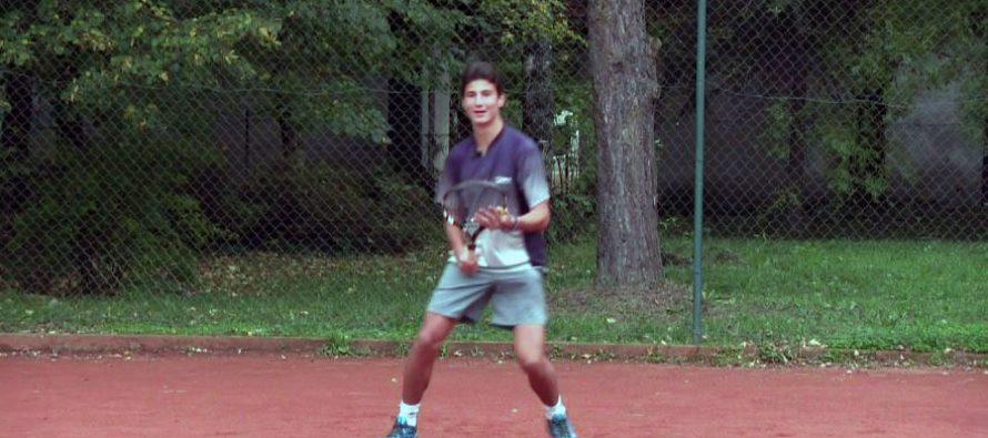 Aleksa Ćirić – belopalanački teniski talenat