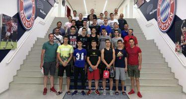 Mlađe kategorije košarkaša Pirota pune utisaka sa gostovanja Bajernu iz Minhena