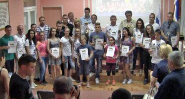 Savez za školski sport Aleksinca dodelio priznanja i zahvalnice (VIDEO)