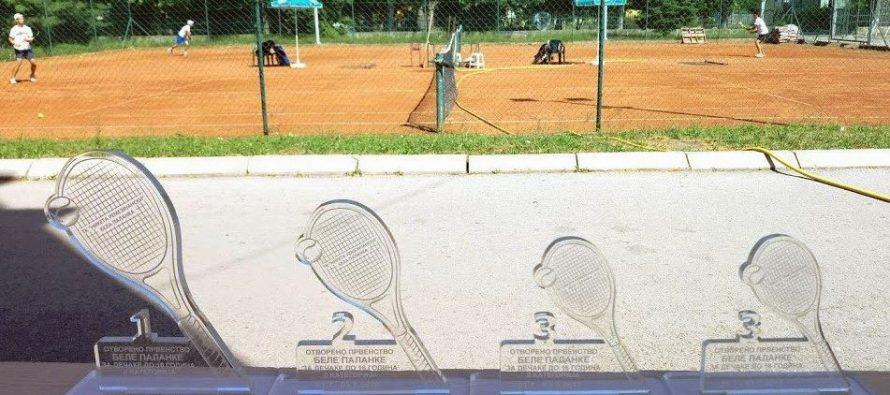 """Teniser iz Pirota Uroš Jović pobednik """"Otvorenog prvenstava Bele Palanke"""""""