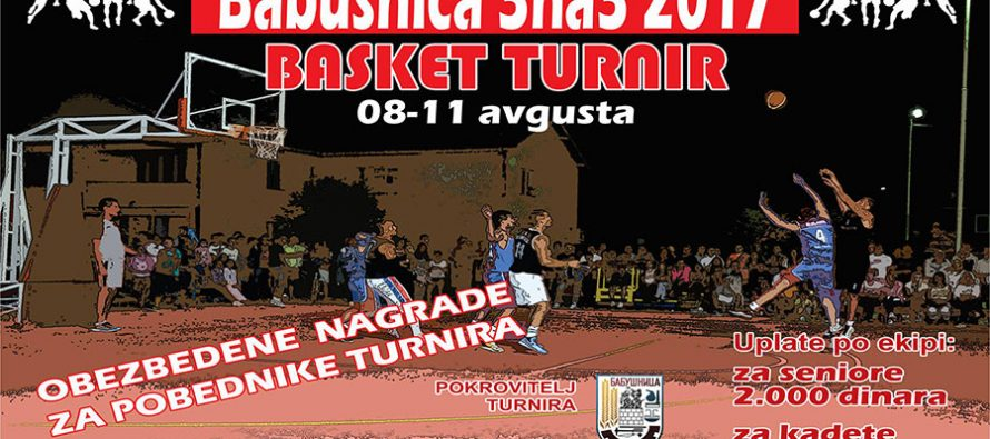 3 na 3 basket u Babušnici