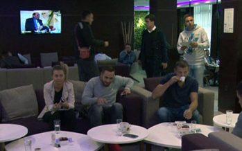 Futsal reprezentacija Srbije stigla u Niš (VIDEO)