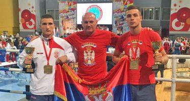 Kikbokserima Niša tri zlata na Evropskom prvenstvu (VIDEO)