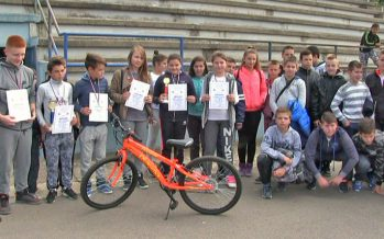 Poligon spretnosti za male aleksinačke bicikliste (VIDEO)