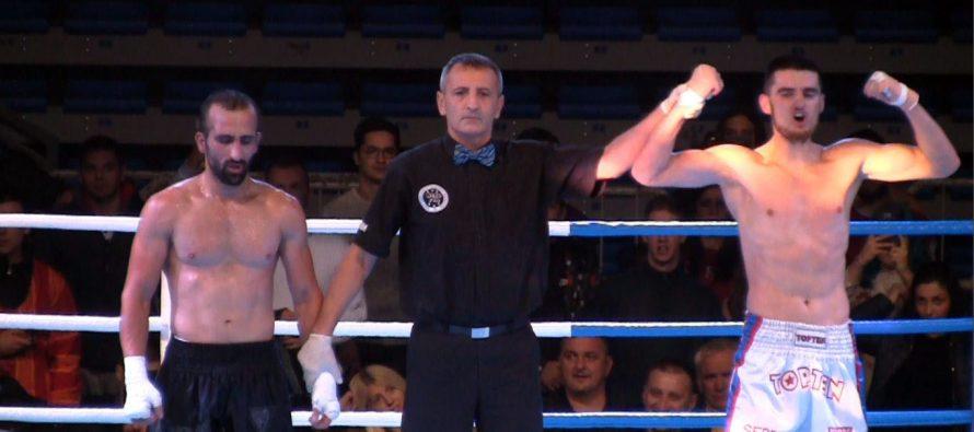 Novak Radulović osvojio pojas profesionalnog prvaka Balkana (VIDEO)