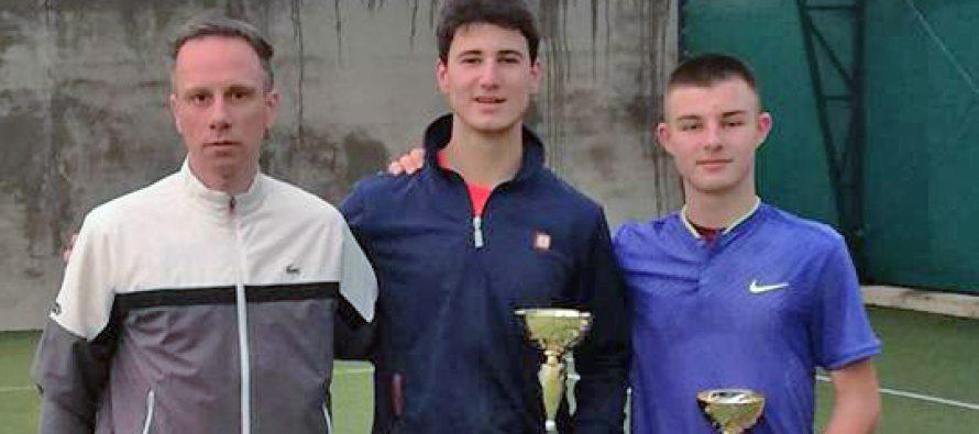 Aleksa Ćirić iz Bele Palanke prvak Srbije u tenisu