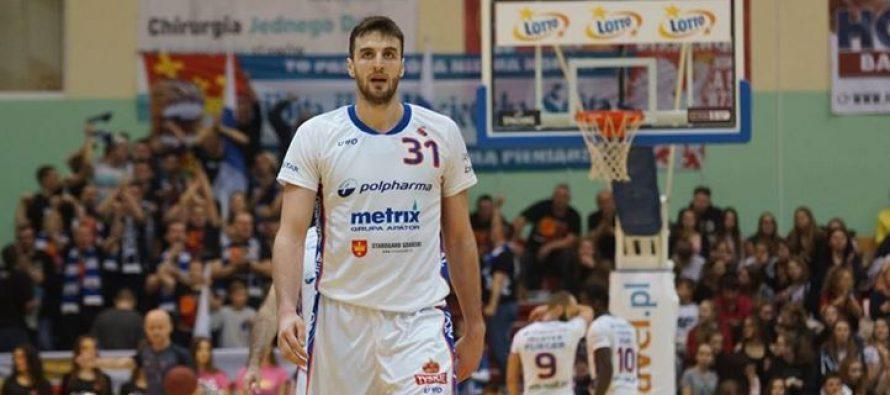 Milovanović je najbolji igrač februara meseca u Poljskoj