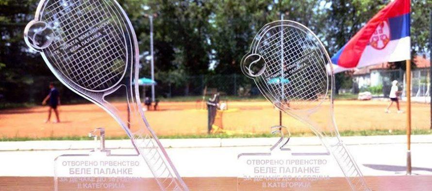 Uskoro Otvoreno prvenstvo Bele Palanke za tenisere do 16 godina