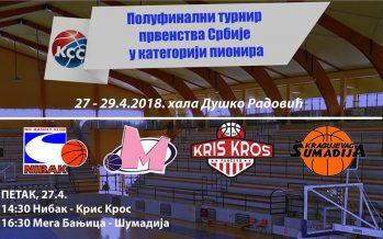 Pioniri Nibaka na polufinalnom turniru Prvenstva Srbije