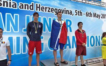 Andrija Petković osvajao medalje i obarao rekorde na Balkanskom prvenstvu