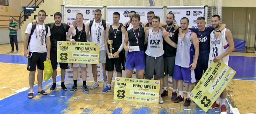 """Izuzetno jak """"3×3"""" turnir u Nišu pripao """"Olimpu"""" (VIDEO)"""