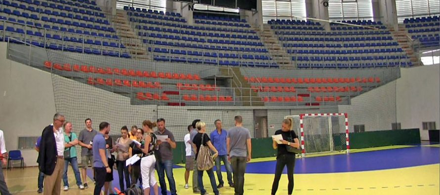 Čair spreman za najbolje košarkašice Evrope (VIDEO)