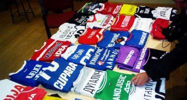 I pored lošeg vremena humanitarna aukcija dresova uspešna (VIDEO)