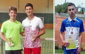Uspešan vikend belopalanačkih tenisera, Ćirić vicešampion, Kostić treći