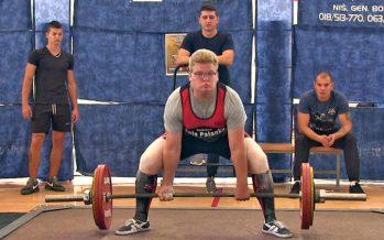 Prestižno takmičenje u powerliftingu u Beloj Palanci (VIDEO)