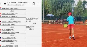Prva pobeda za Aleksu Ćirića na profesionalnom turniru