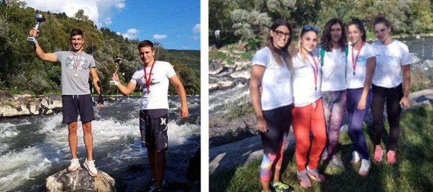 Takmičari Gusara i takmičarke Medicinara sjajni na državnom prvenstvu u slalomu