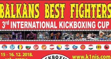 "Počinje ""Balkan best fighters"""