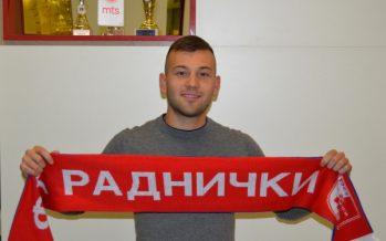 Aleksandar Kostić pojačao Radnički