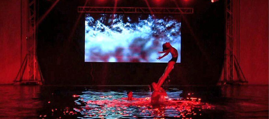 Pepeljuga na vodi čairskog bazena (VIDEO)