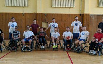 Prvi trening košarke u kolicima u Nišu