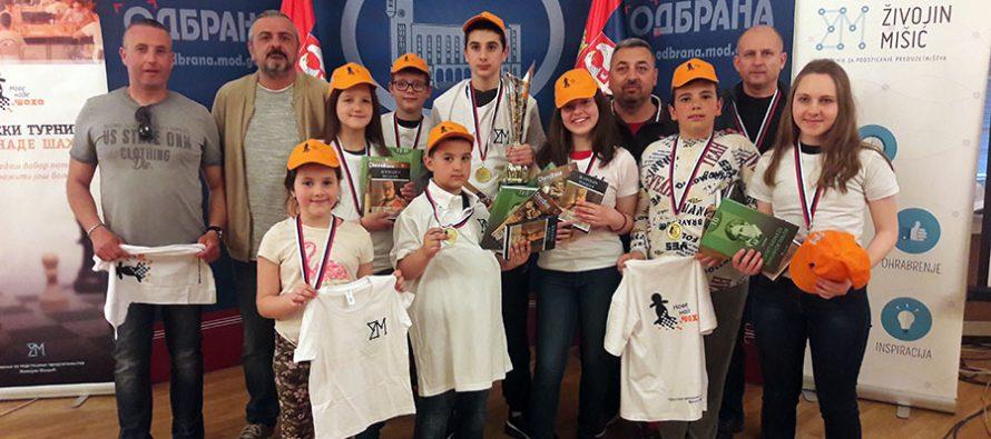 Mladi šahisti Niša najbolji u Srbiji