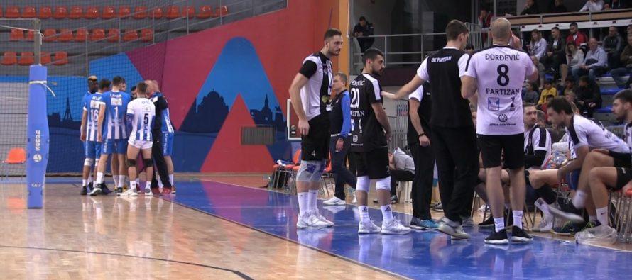 Odbojkaši Niša poraženi od Partizana u Čairu (VIDEO)