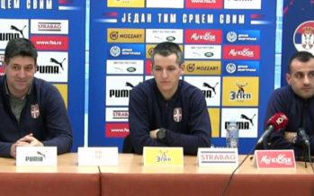Srbija otvara turnir sa Ukrajinom (VIDEO)