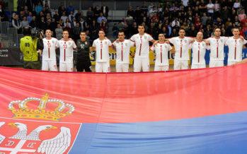 Futsaleri Srbije deklasirali Ukrajinu (VIDEO)