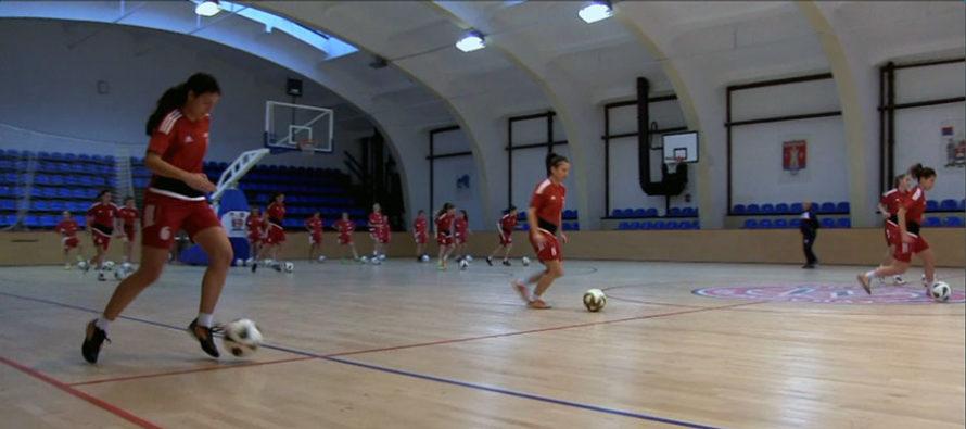Fudbalerke Radničkog počele pripreme za nastavak sezone (VIDEO)